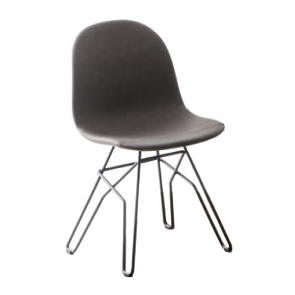 ACADEMY CHAIR WITH BRAIDED LEGS, by CONNUBIA BY CALLIGARIS