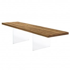 AIR WILDWOOD EXTENSIBLE TABLE, by LAGO