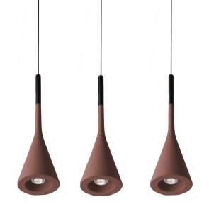 APLOMB SUSPENSION LAMP, by FOSCARINI