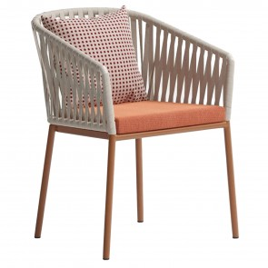 BITTA CHAIR WITH ARMRESTS, by KETTAL