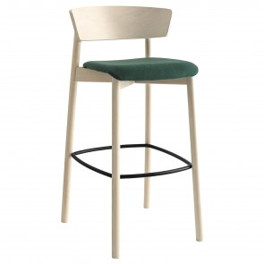 CLELIA COVERED STOOL CB/2121, by CONNUBIA