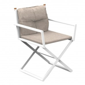 DOMINO DIRECTOR CHAIR, by TALENTI ICON
