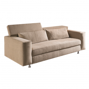 OPEN SOFA-BED 2 SEATS COATING CAT.F LIGHT-103, by VIBIEFFE