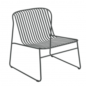 RIVIERA LOUNGE CHAIR, by EMU