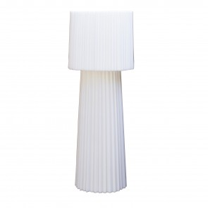 RUFFLE FLOOR LAMP, by SERRALUNGA