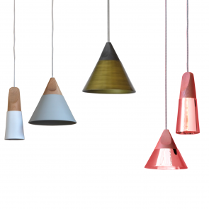 SLOPE SUSPENSION LAMP, by MINIFORMS