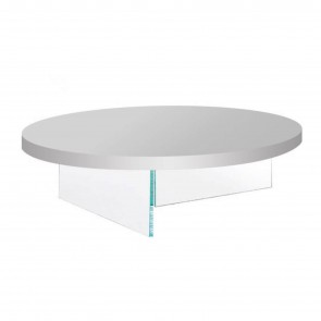 AIR LACQUERED ROUND COFFEE TABLE, by LAGO
