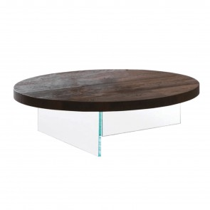 AIR WILDWOOD ROUND COFFEE TABLE, by LAGO