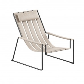 STRAPPY DECK CHAIR, by ROYAL BOTANIA
