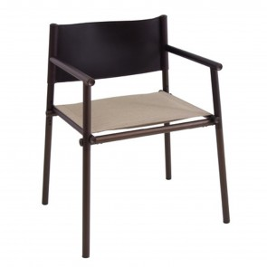 TERRAMARE CHAIR WITH ARMRESTS, by EMU