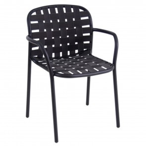 YARD CHAIR WITH ARMRESTS, by EMU
