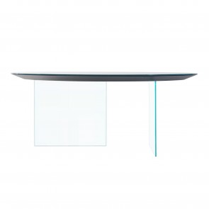 AIR ROUD GLASS TABLE