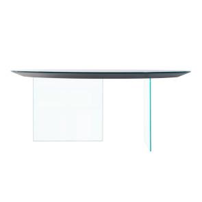 AIR ROUD GLASS TABLE