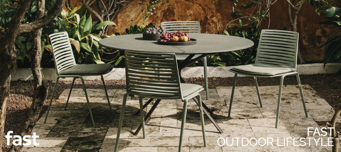 fast aluminium design furniture